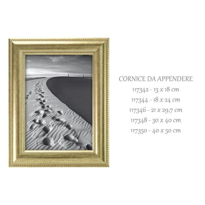 SinSin  Cornice da Appendere Ray Argento 30x40 cm 117348