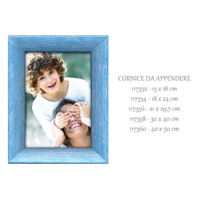 SinSin  Cornice da Appendere Jovine Blu 40x50 cm 117360
