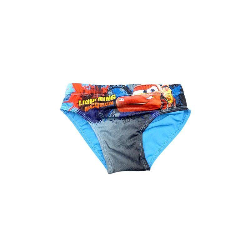 Costumino costume da bagno slip bimbo bambino Disney Cars azzurro 7A