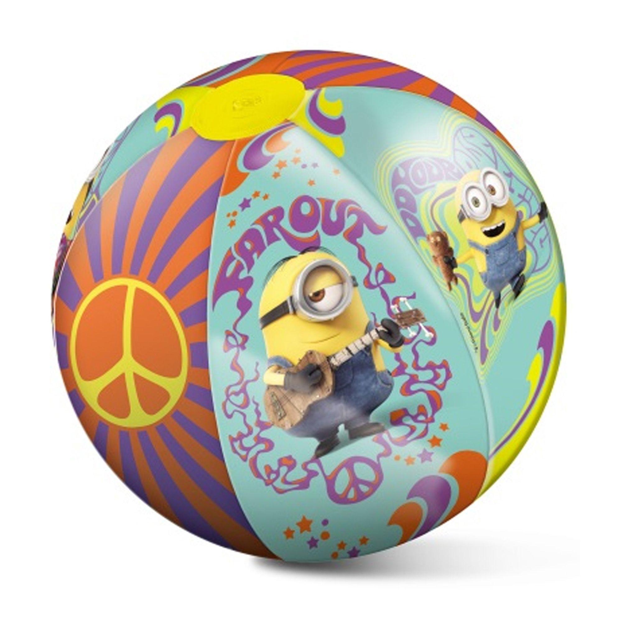 Mondo  Pallone Gonfiabile da Spiaggia Minions  50 cm
