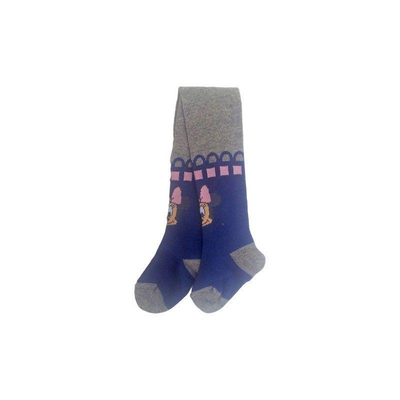 Collant calza calzamaglia bimba bambina Disney Minnie grigio 6  12 m