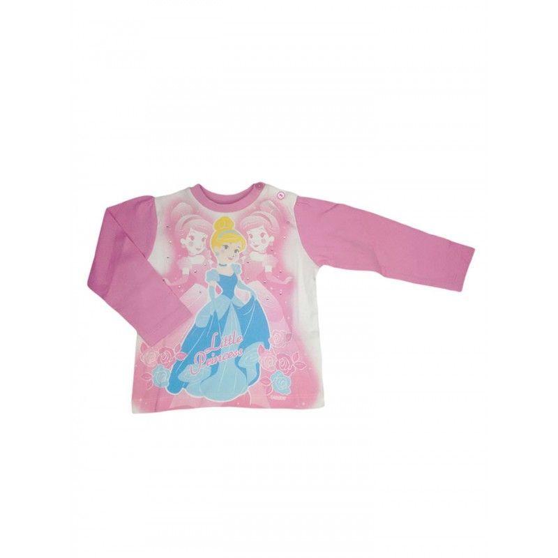 Tshirt maglia maglietta cotone bimba neonato Disney baby Principesse 18 m