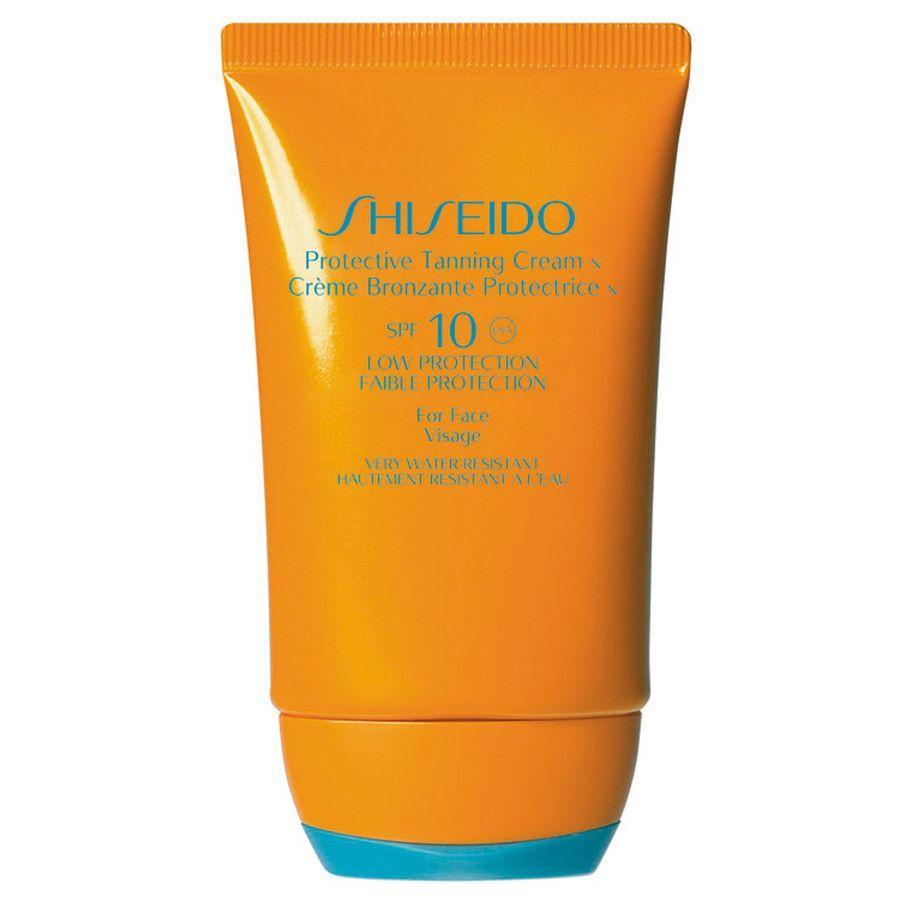 Shiseido  Protective Tanning Cream 50 ml SPF10 Protezione Bassa per Viso