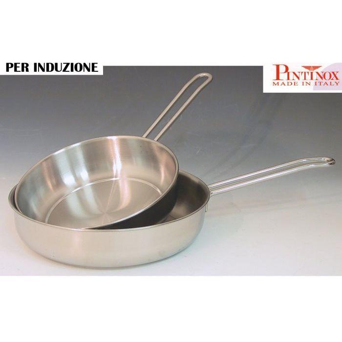 Pintinox   Padella a induzione 1 manico 24 cm