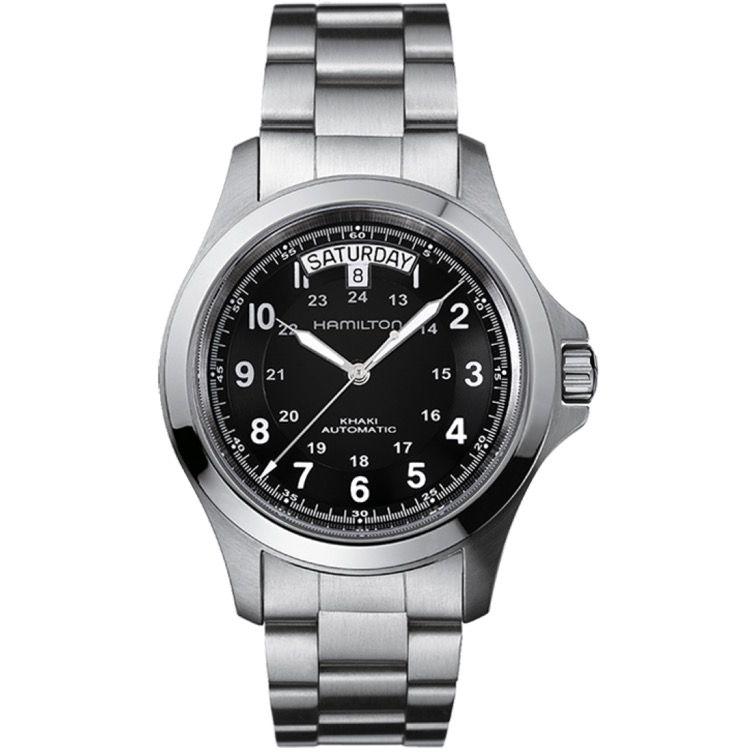 orologio Hamilton uomo   H64455133  Mod KHAKI KING II
