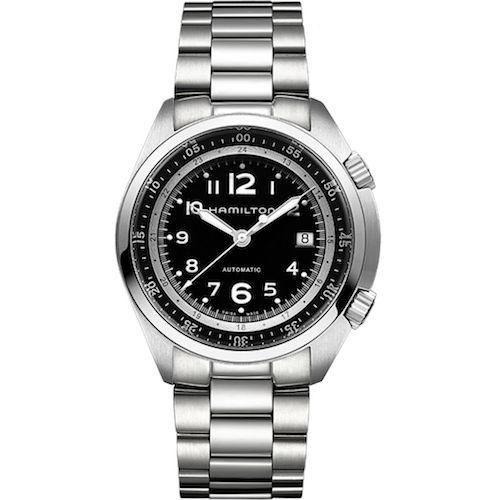 orologio Hamilton uomo H76455133  KHAKI PILOT PIONEER
