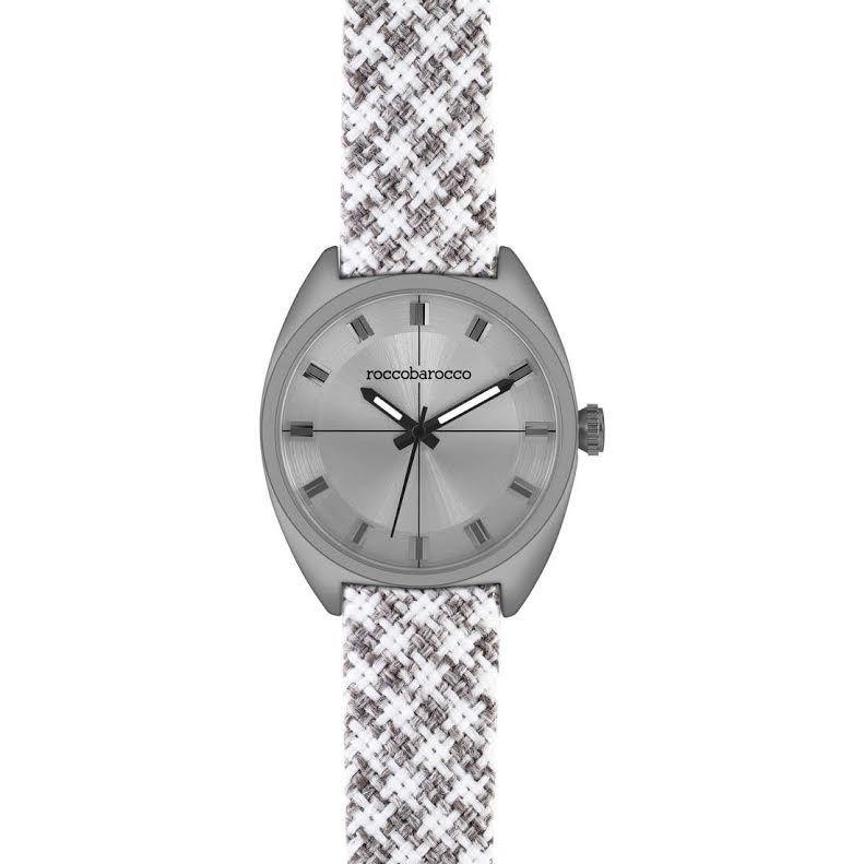 orologio Rocco Barocco unisex RB0085  Mod PIED DE POULE