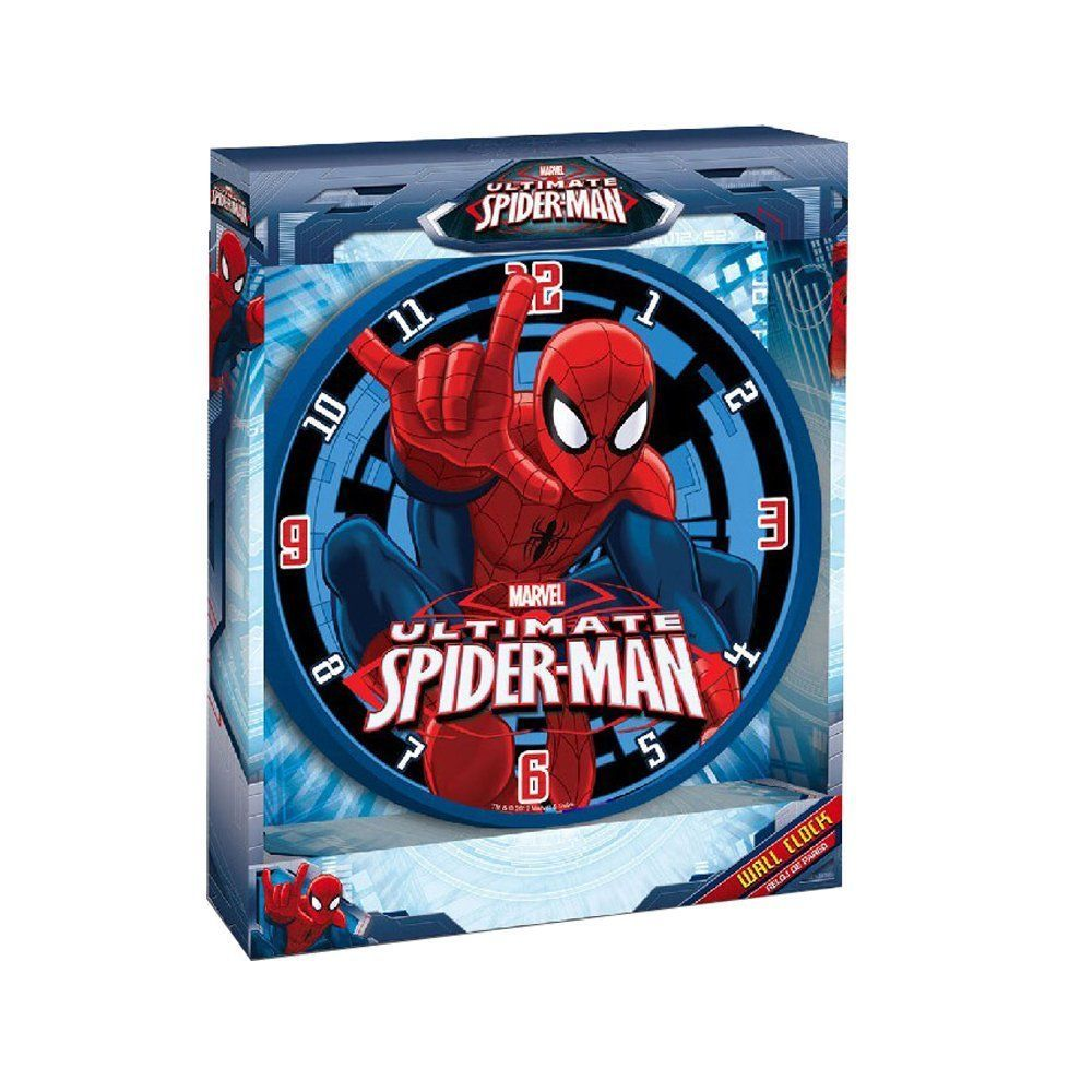 Disney Orologio da Parete Spiderman MV10047