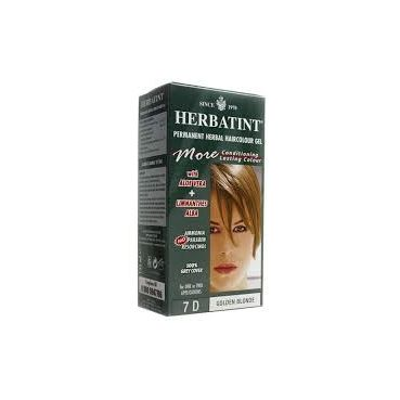 tintura per capelli HERBATINT 7D biondo dorato 265ML