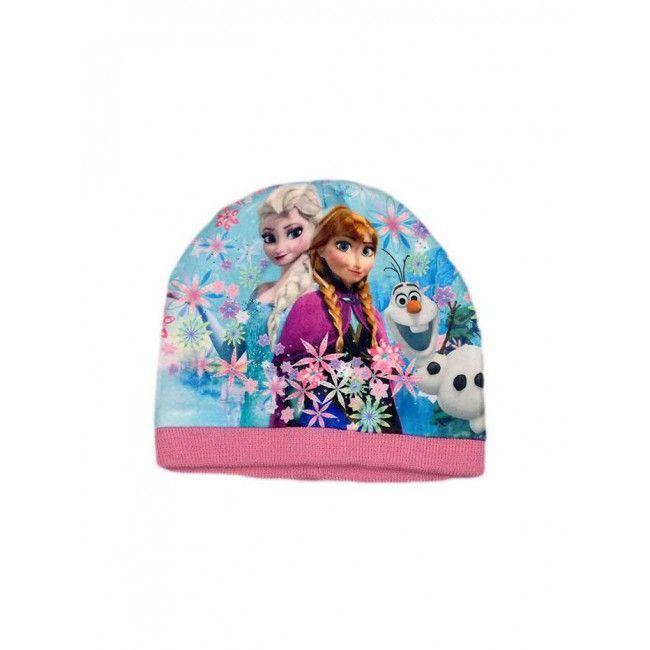 Cappello bimba bambina Disney Frozen rosa tg 54
