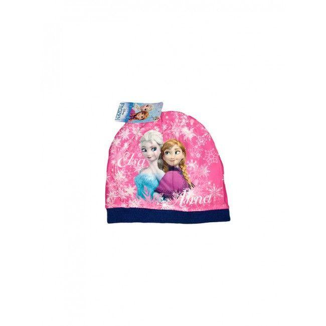 Cappello bimba bambina Disney Frozen blu tg 54