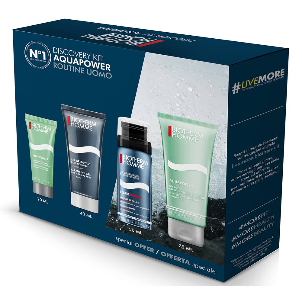 Biotherm Biotherm Homme Discovery Kit Aquapower