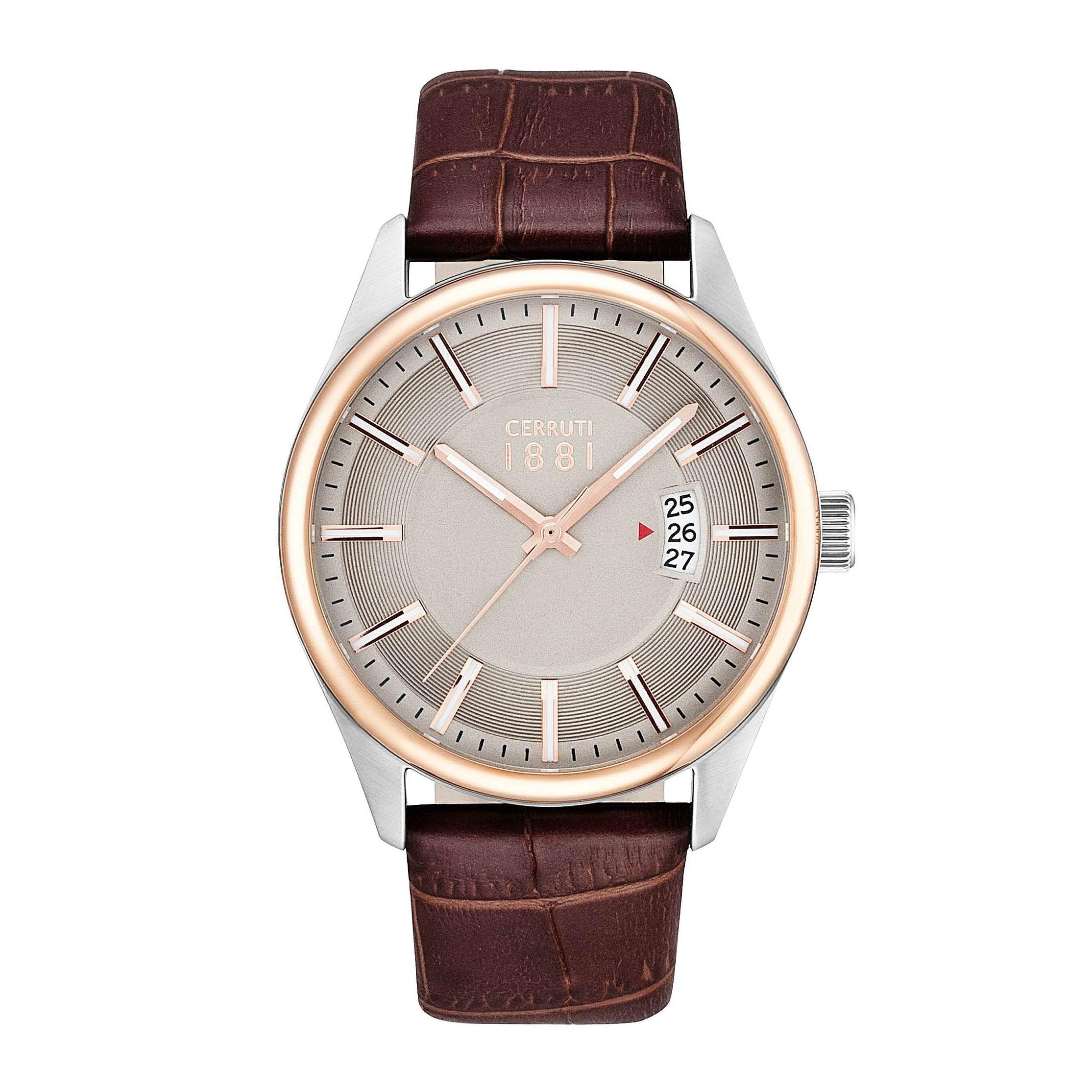 orologio Cerruti uomo  CRA127STR20BR mod Palinuro