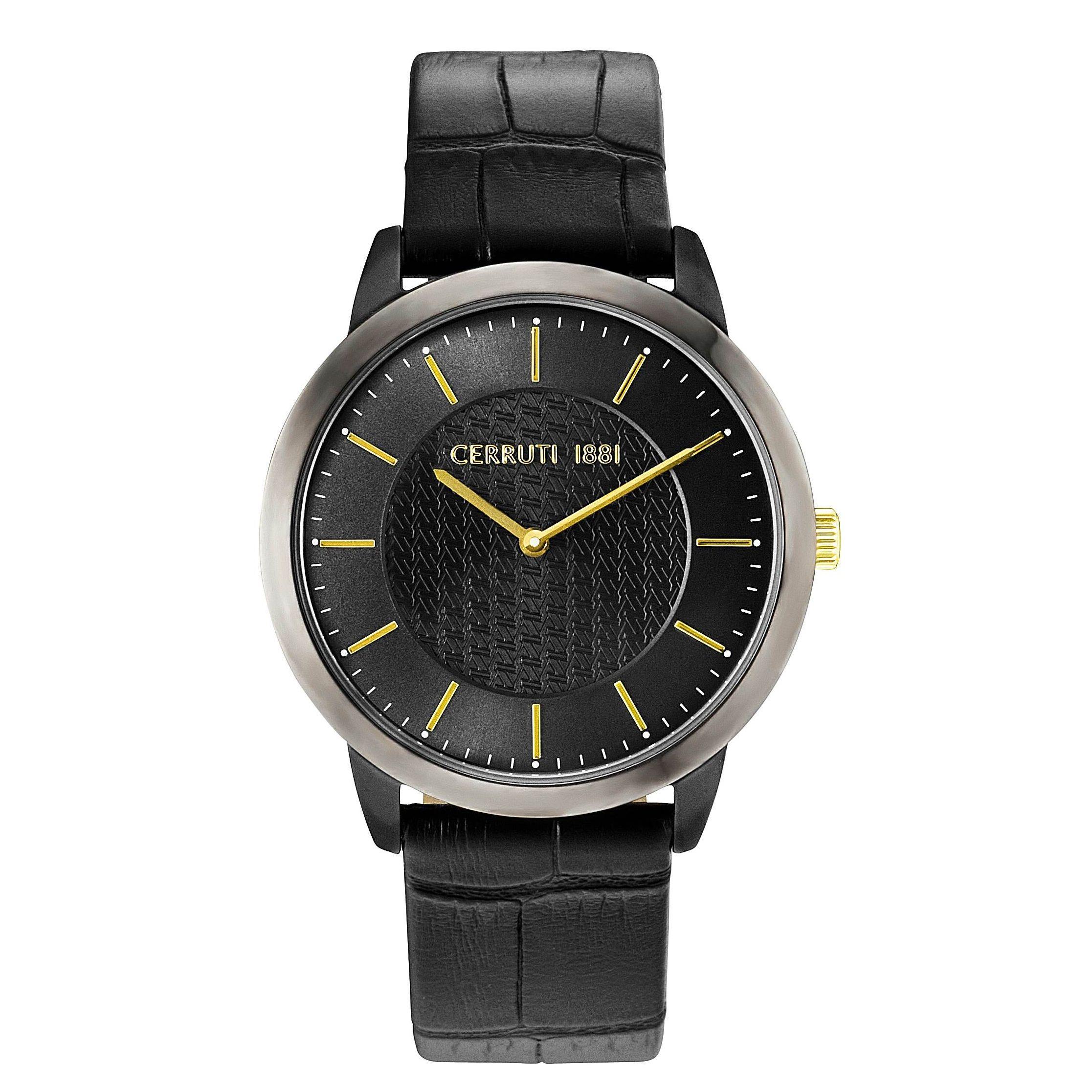 orologio Cerruti uomo CRA148SBU61BK Mod CANNEDI