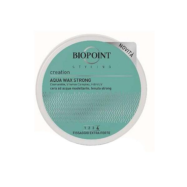Biopoint Aqua Wax Strong Cera Modellante Capelli