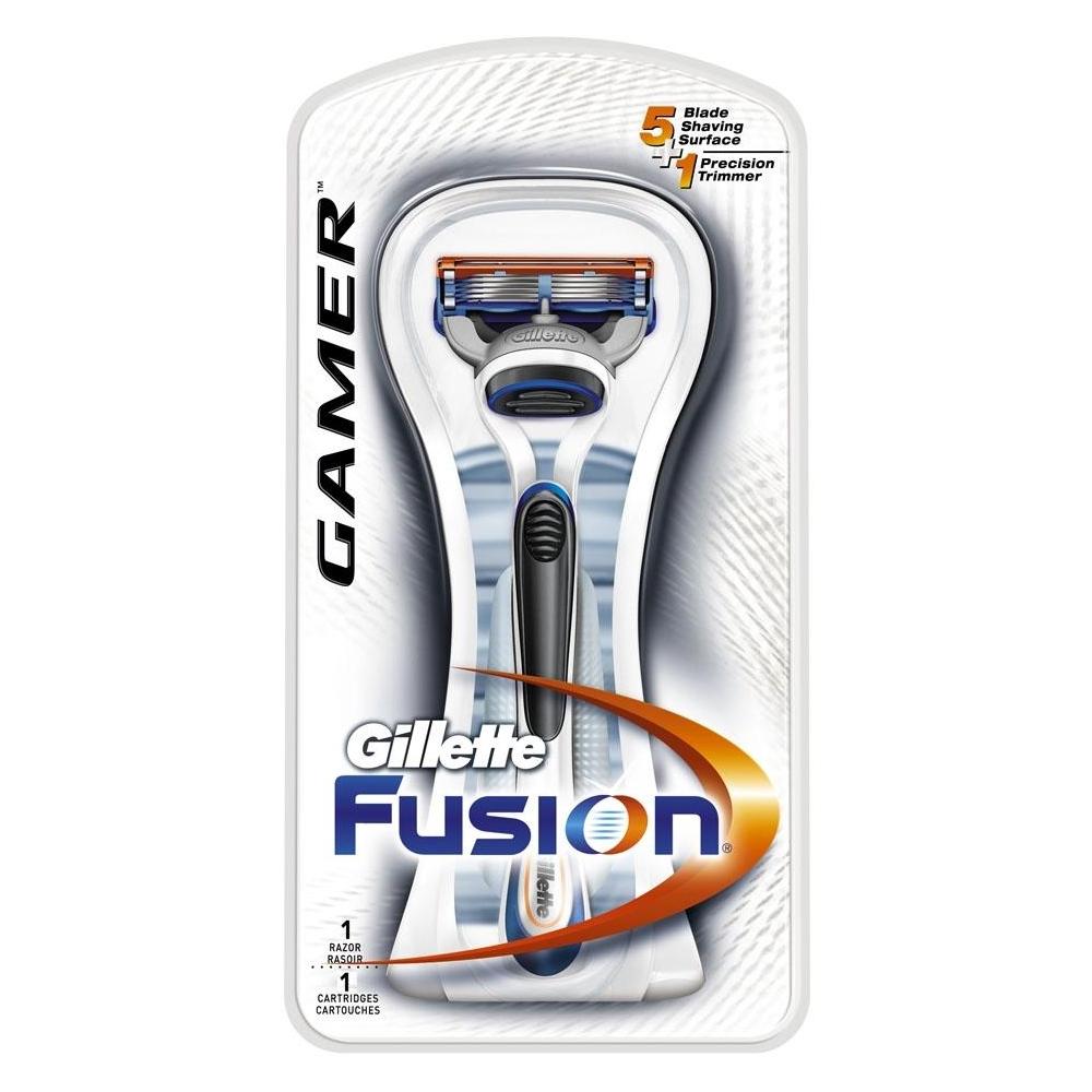 Gillette  Fusion gamer 1  rasoio