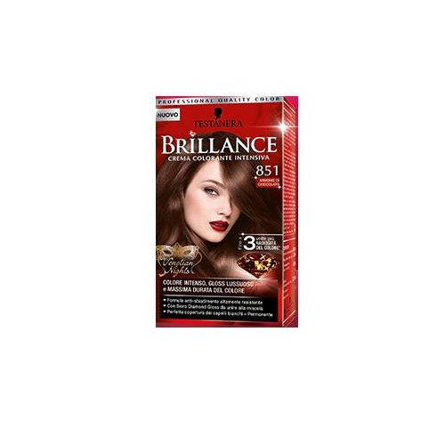 Testanera  Crema colore brillance intensiva diamond gloss 851 armonie di cioccolato