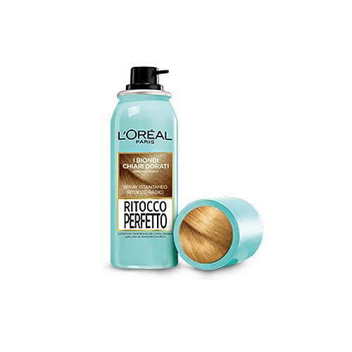 LOral Paris  Ritocco perfetto  spray istantaneo ritocco radici i biondi chiari dorati