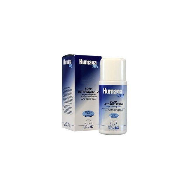 Sapone detergente ultradelicato liquido Humana TU
