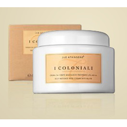 I Coloniali  Percorso Rigenerante  Crema corpo massaggio profondo alla mirra 200 ml