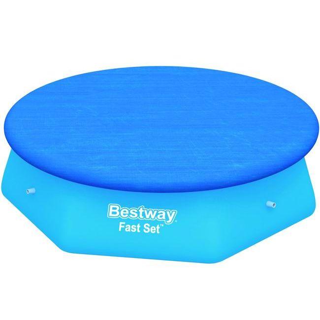 Teli copertura bestway piscine fast set tonde cm 280 244 for Bestway piscine e accessori