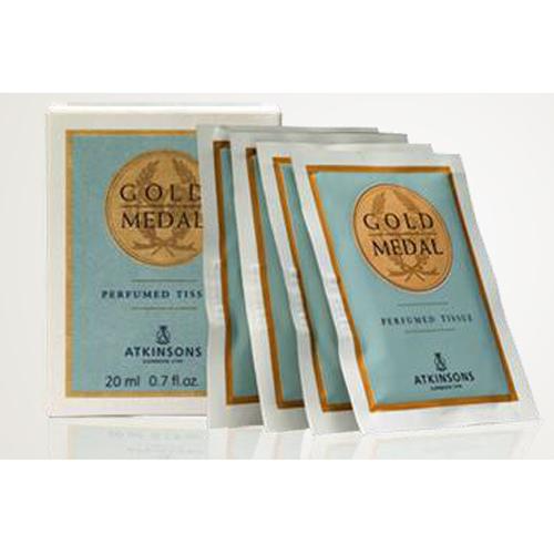 Atkinsons Gold Medal Perfumed Tissues Salviette rinfrescanti profumate 10 pz