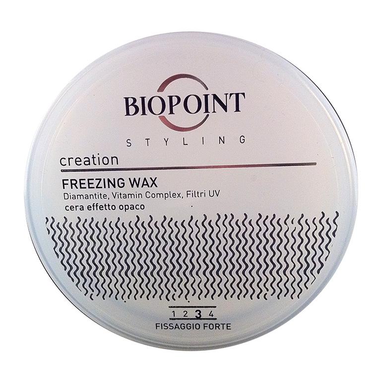 Biopoint Styling Creation Freezing Wax cera forte effetto opaco 100 ml