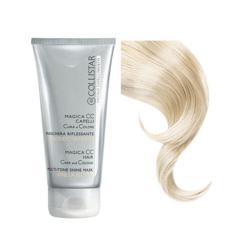Collistar magica CC capelli cura e colore maschera riflessante BIONDO VANIGLIA 150 ml