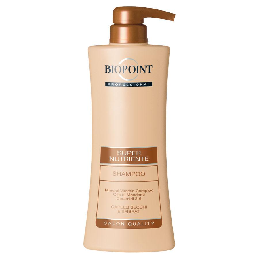 Biopoint shampoo Vitamin Complex Olio di Mandorle capelli secchi sfibrati 400 ml