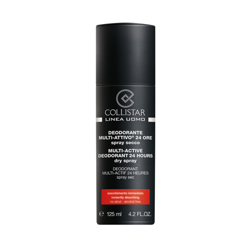 Collistar Uomo Deodorante MultiAttivo 24 Ore spray secco 125 ml