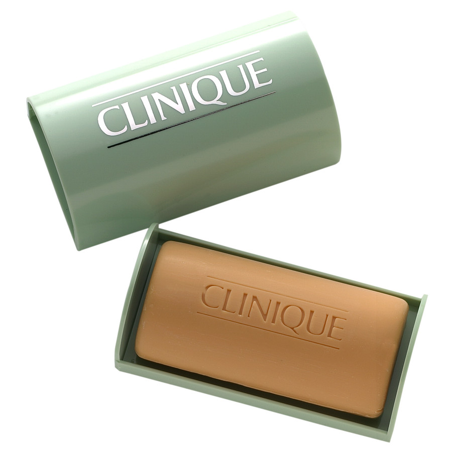 Clinique Facial Soap Oily sapone viso per pelle oleosa con portasapone 100gr