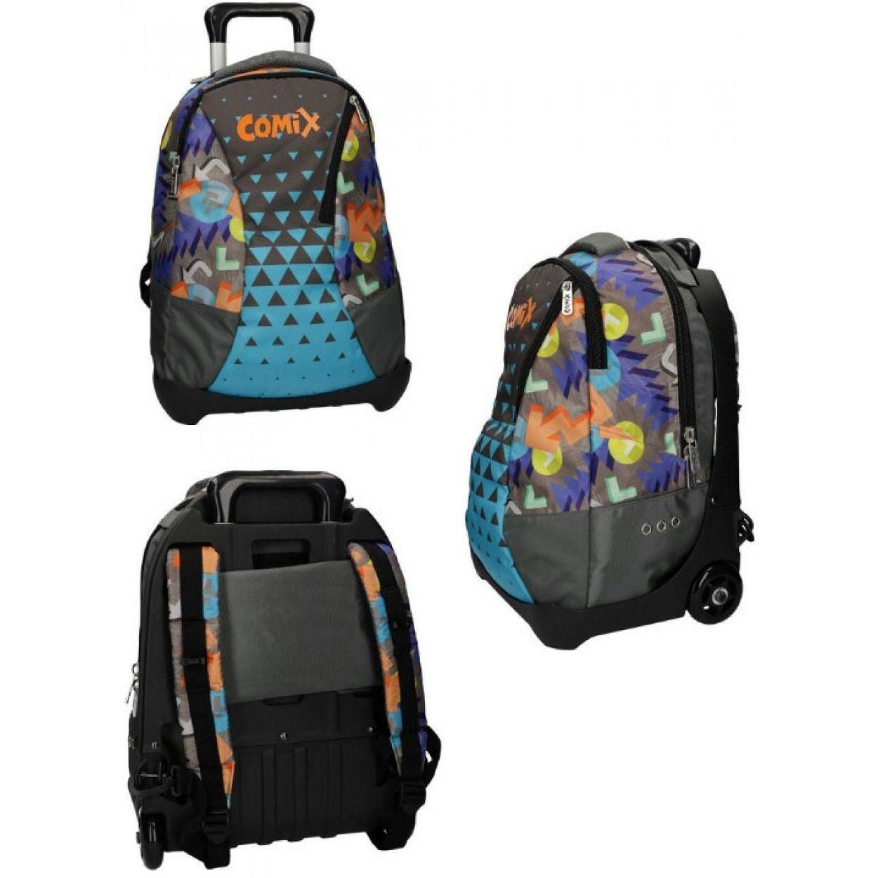 negozio online e5a12 1ee8e COMIX ZAINO TROLLEY STACCABILE X 59023