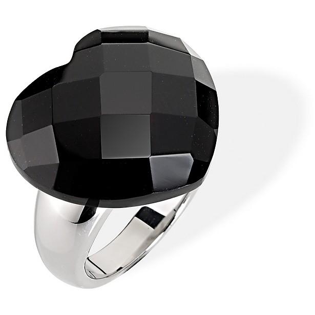 anello donna morellato black  white scu10012