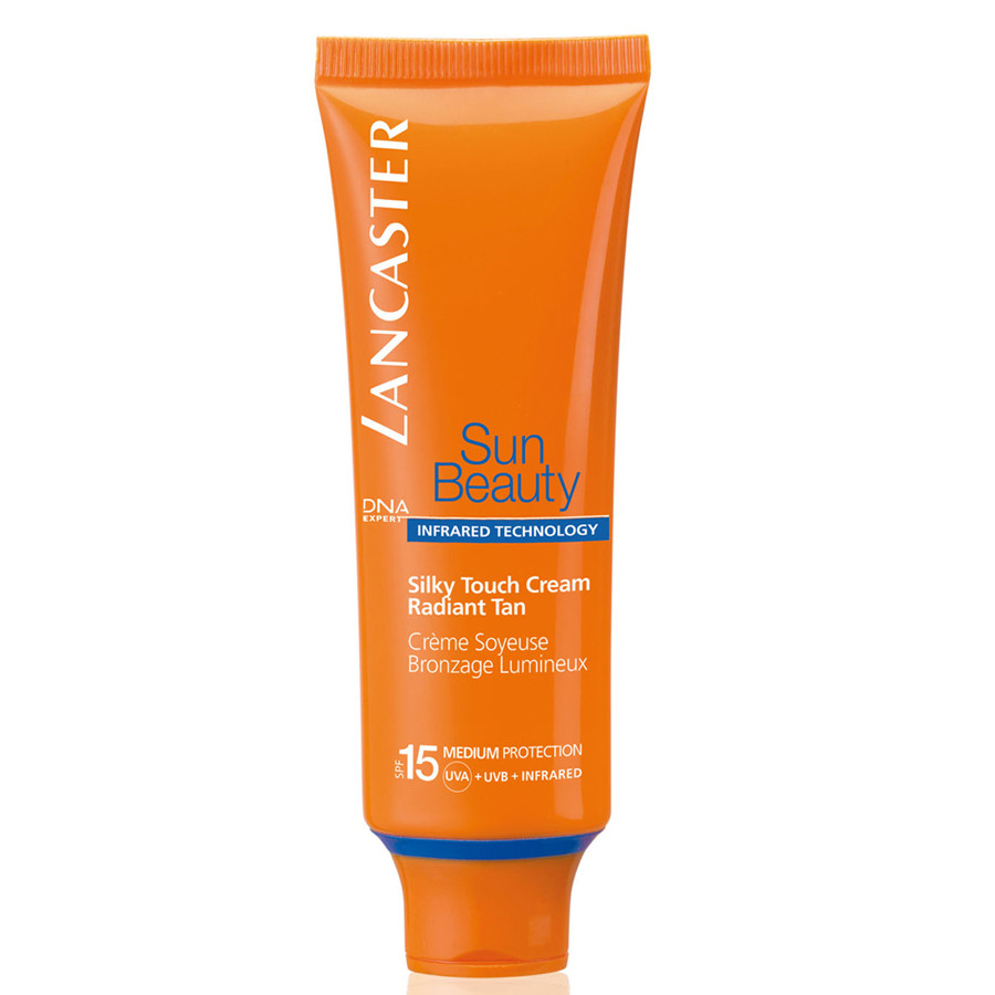 Lancaster Sun Beauty Silky Touch Cream crema effetto seta viso abbronzatura luminosa spf 15 50 ml