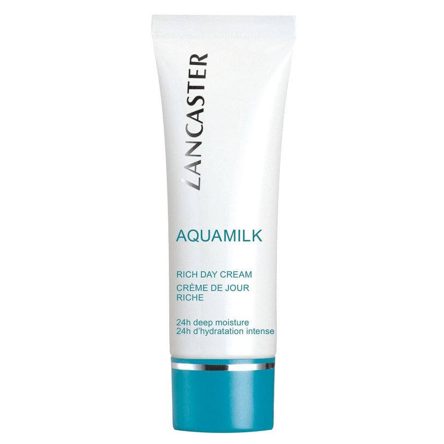 Lancaster Skin Care Aquamilk Rich Day Cream crema giorno ricca idratazione 24h 50 ml