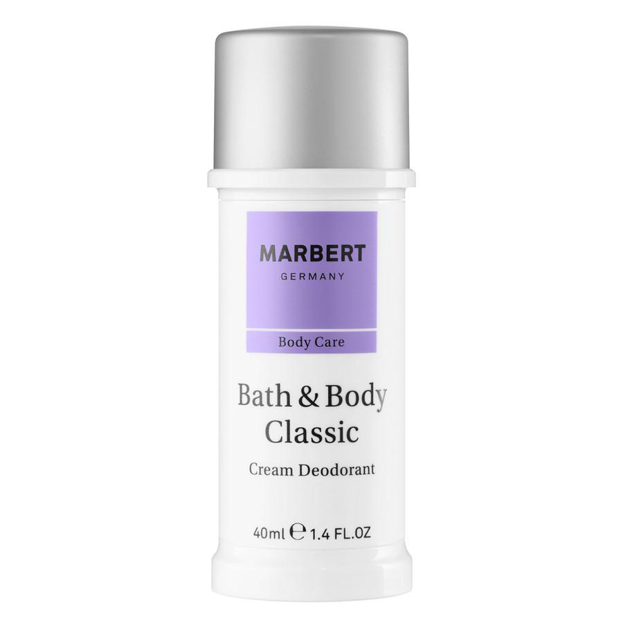 Marbert Bath  Body Classic deodorante in crema con applicatore 40 ml