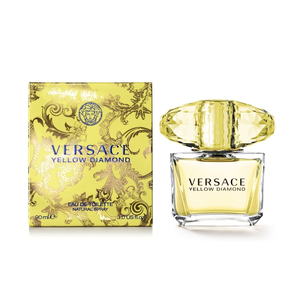 Versace Yellow Diamond edt spray donna 90 ml