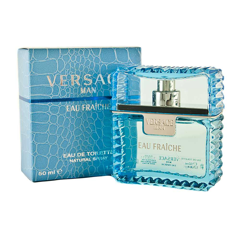 Versace Man Eau Fraiche edt spray uomo 50 ml