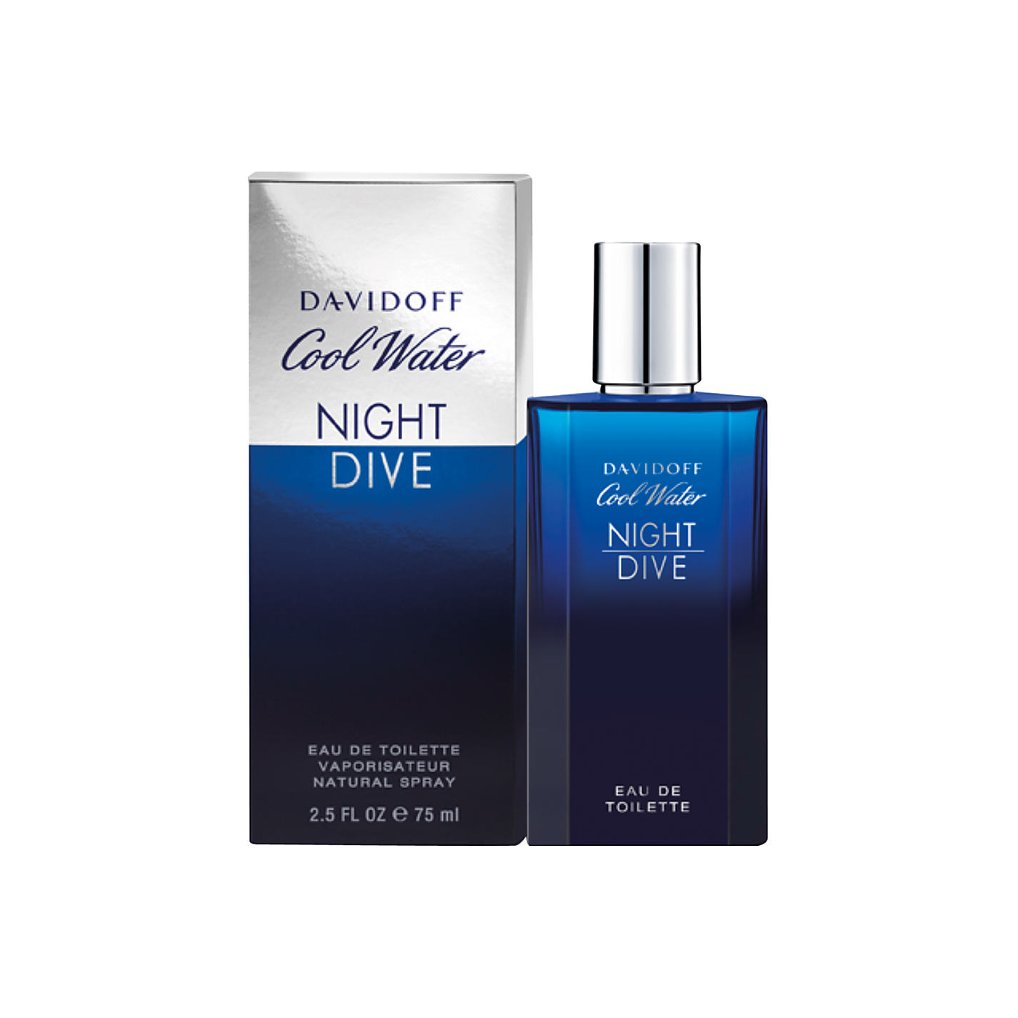 Davidoff Cool Water Night Dive eau de toilette spray uomo 75 ml