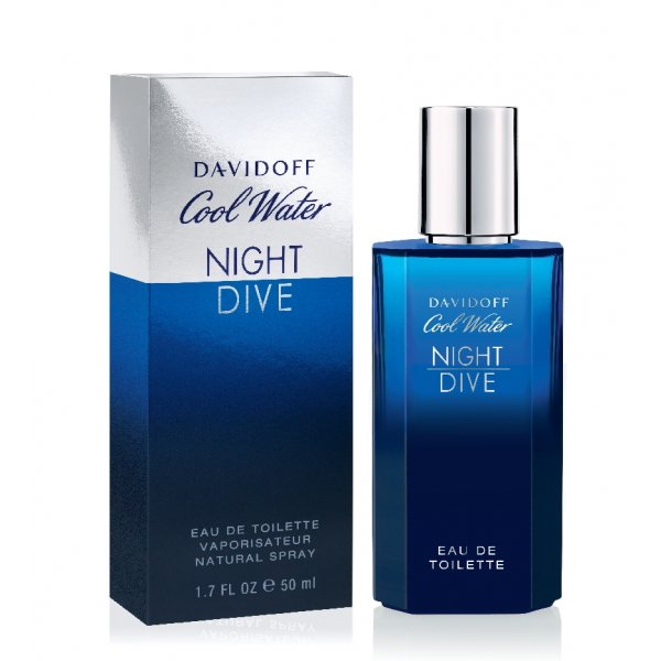 Davidoff Cool Water Night Dive eau de toilette spray uomo 50 ml