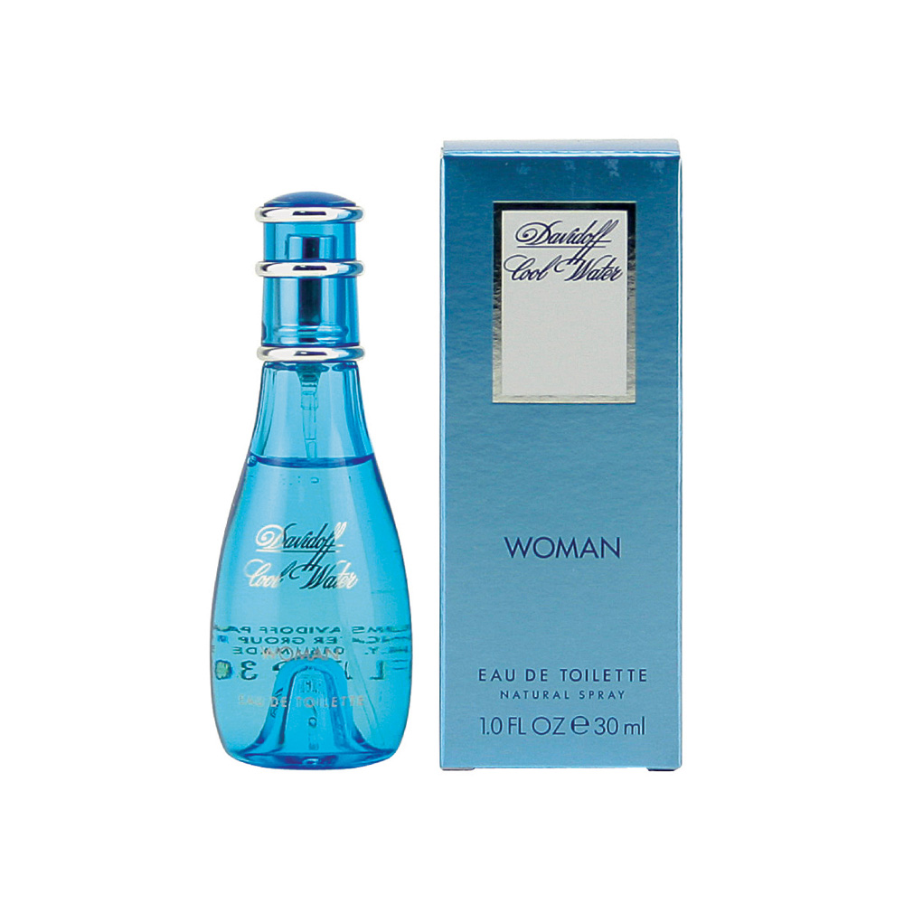 Davidoff Cool Water woman edt natural spray donna 30 ml