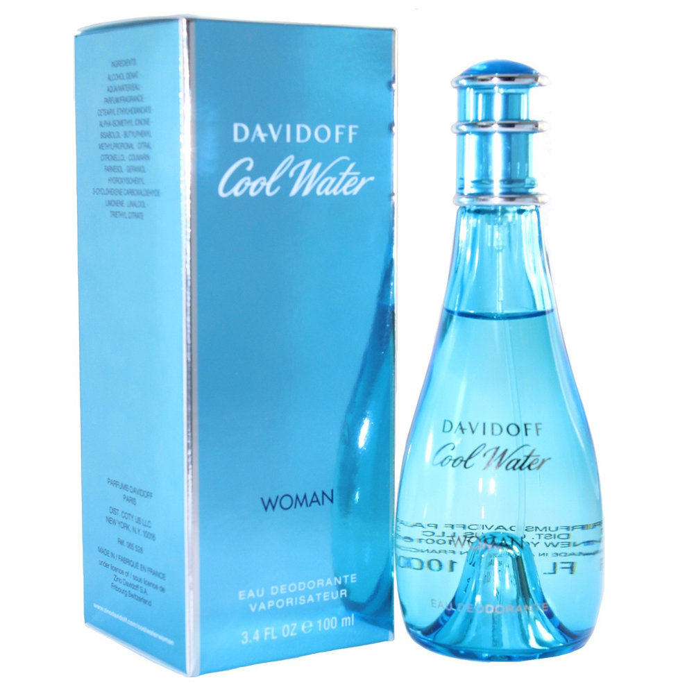 Davidoff Cool water woman deodorante vapo 100 ml