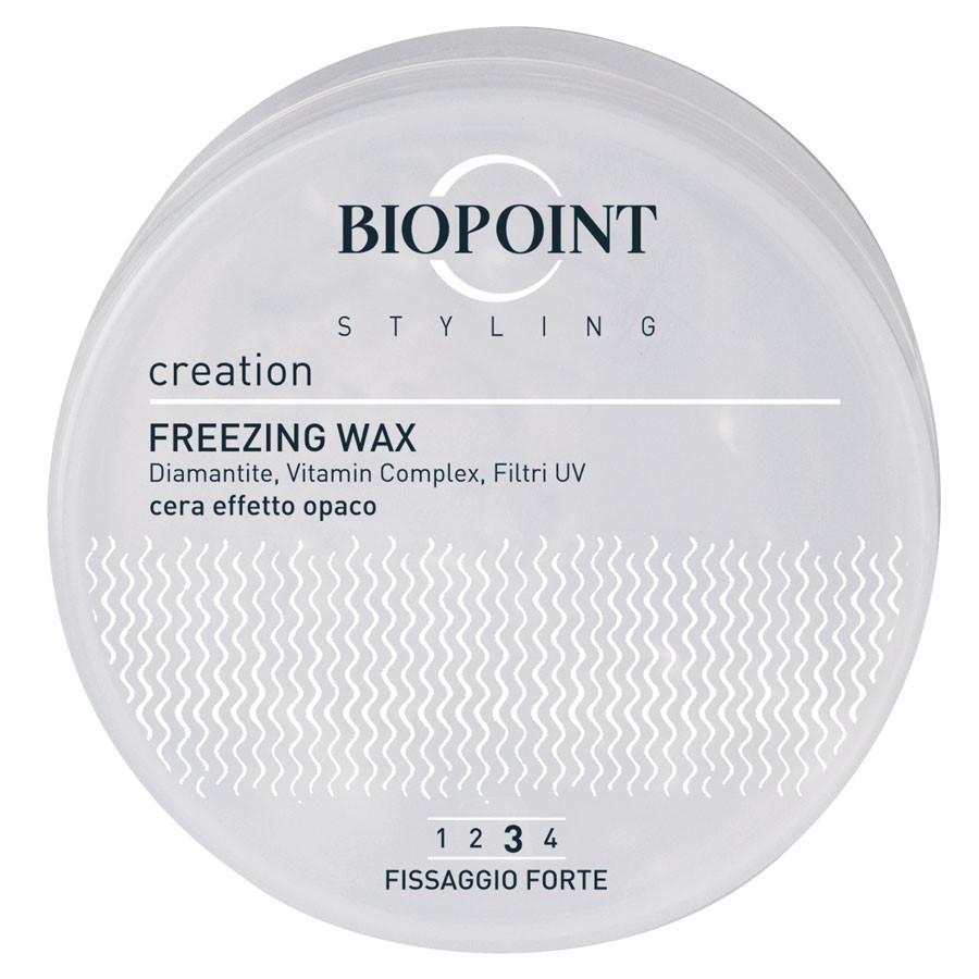 Biopoint Freezing Wax forte cera effetto opaco ai cristalli di rodocrosite 100ml