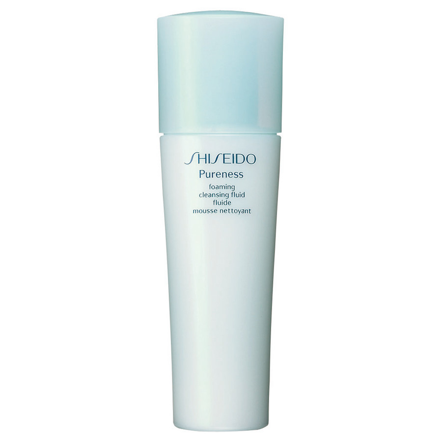 SHISEIDO PURENESS CLEANSING FOAMING FLUID MOUSSE DETERGENTE STRUCCANTE 150 ML