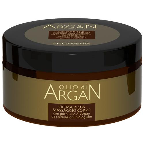 Phytorelax Crema Ricca Massaggio Corpo con puro olio di argan 300 ml
