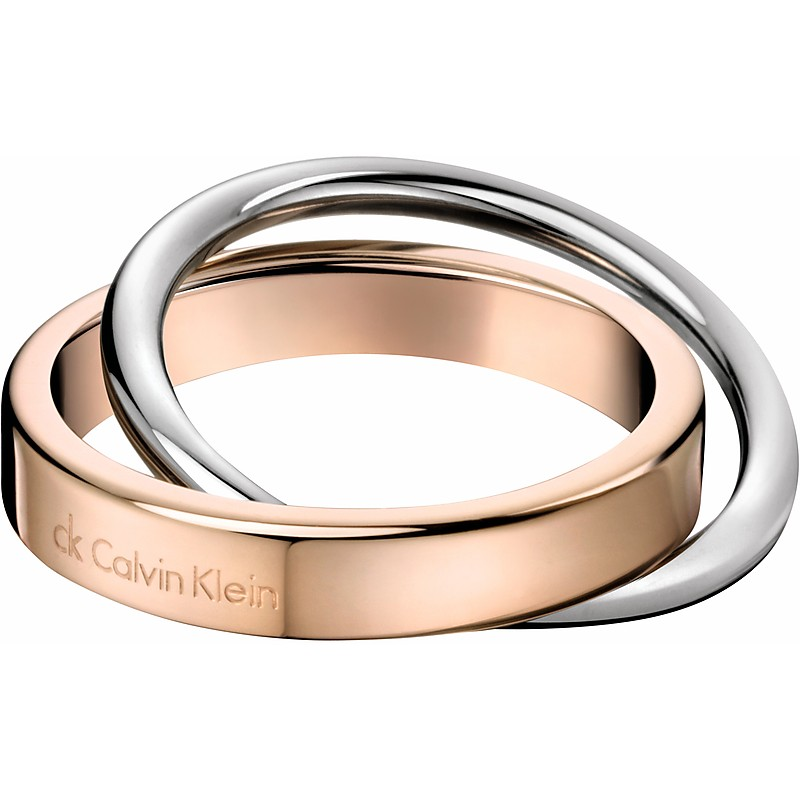 anello unisex calvin klein coil kj63br010110