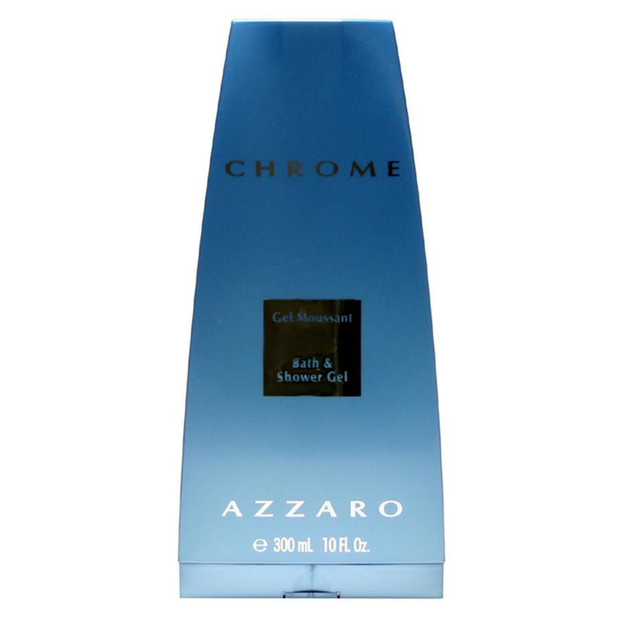 Azzaro Chrome shower gel bagno doccia uomo 300 ml