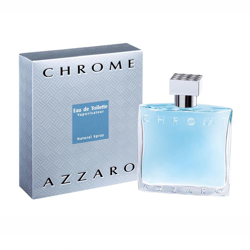 Azzaro Chrome eau de toilette vapo uomo 50 ml