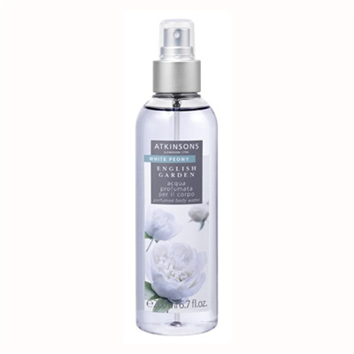 Atkinsons English Garden  White Peony  Acqua profumata per il corpo 200 ml