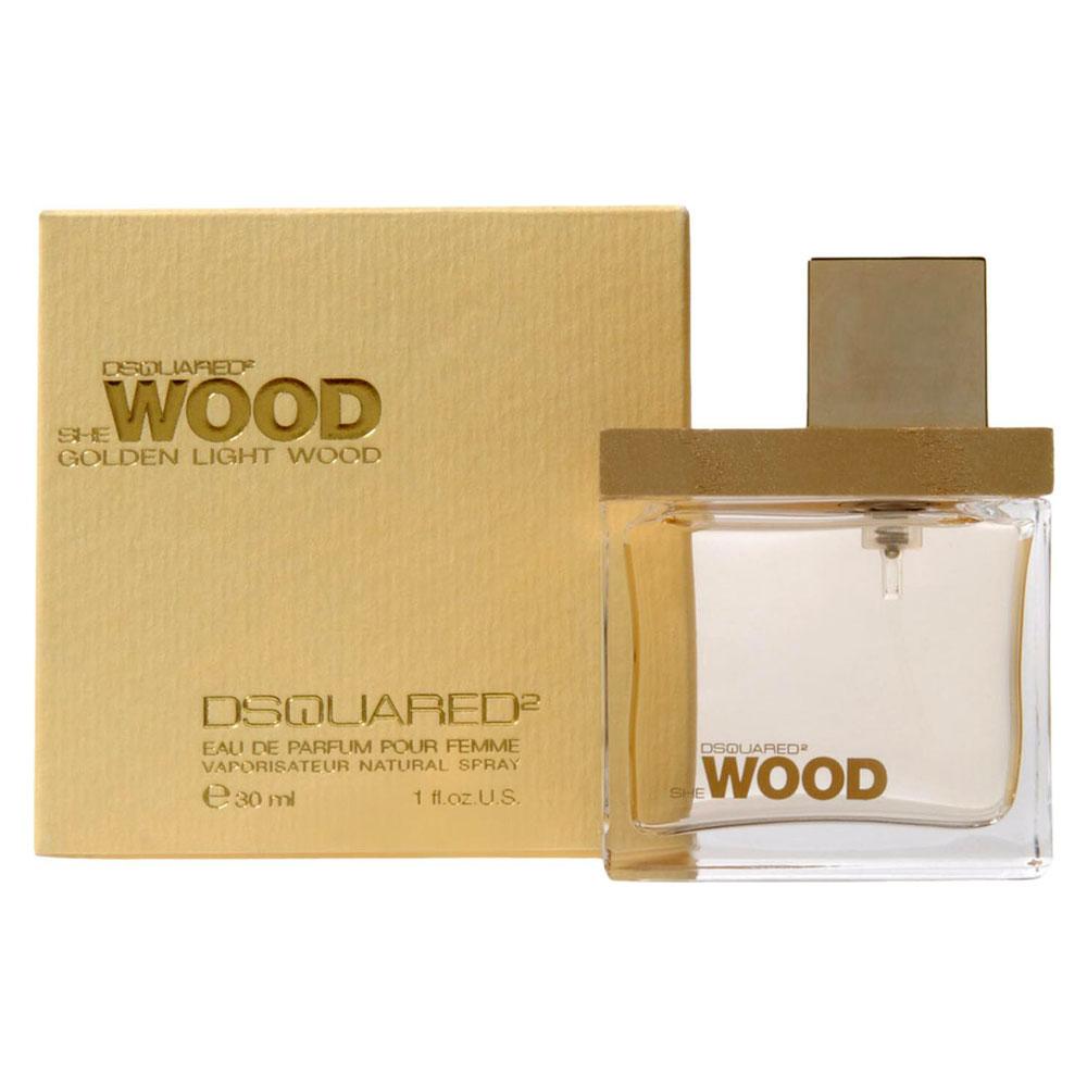 Dsquared She Wood Golden Light Wood Eau De Parfum Donna 30